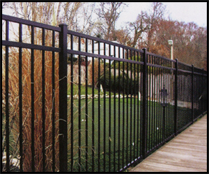 Welcome To Our Aluminum Fencing Photo Gallery Division
